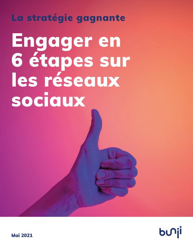 Page couverture Raisons d'engager 2 - La stratégie gagnante - réseaux sociaux - livre blanc - ebook